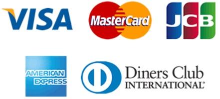 クレジットカードブランドのロゴ画像