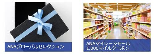 ANAマイルショッピングに使える説明画像