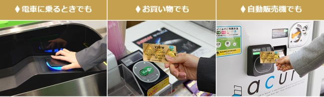 ビューゴールドプラスカード機能説明画像