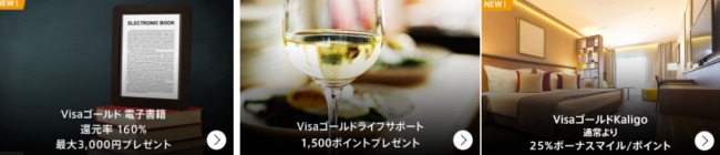 Visaゴールド優待 画像