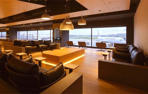 利用可能な空港ラウンジ画像