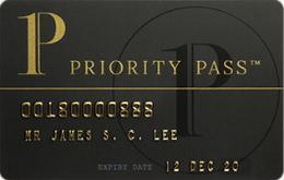 プライオリティパス会員カード