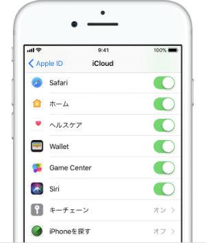 iPhone を探す機能説明画像