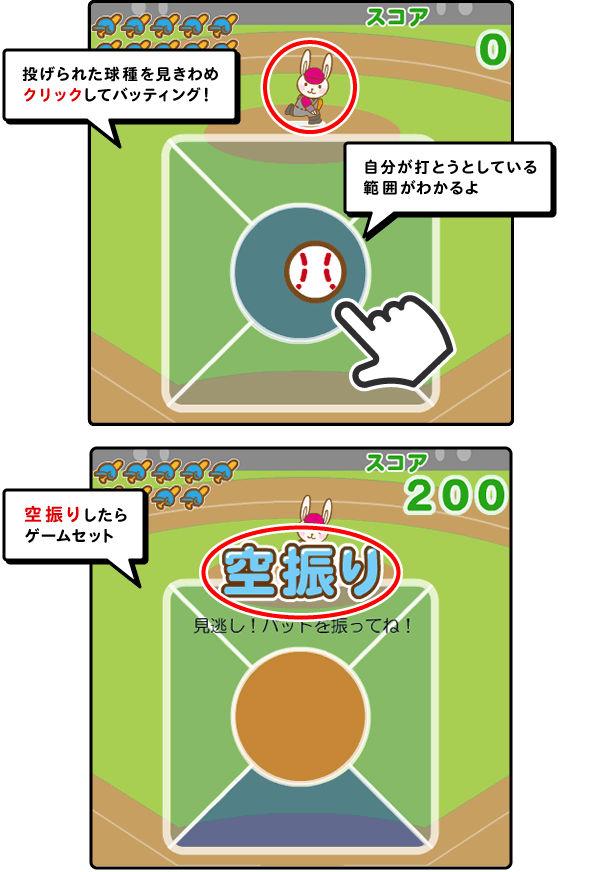 ホームラン王ゲーム画像
