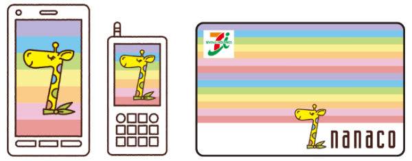nanacoカードとnanacoモバイル