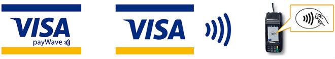 Visa payWave利用可能ロゴマーク
