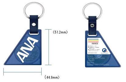 ANA QUICPay+nanaco表裏の画像