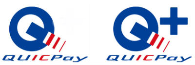 QUICPayとQUICPay+のロゴ
