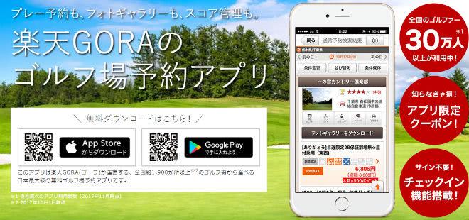 楽天GORAアプリ