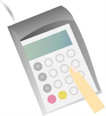 クレジットカード専用端末