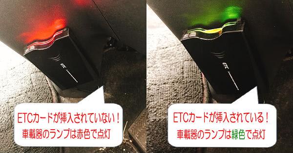 車載器ランプ