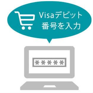 GMOあおぞらネット銀行Visaデビットカードネットショップ使い方
